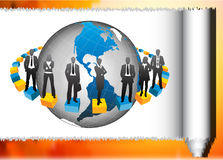 Business people. Illustration of business team.Very useful business concept Stock Images
