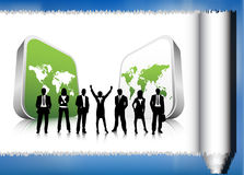 Business people. Illustration of business team.Very useful business concept Stock Photo