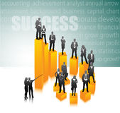 Business people. Illustration of business team.Very useful business concept Stock Photos