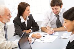 Business people Royalty Free Stock Images