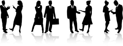 Business people 2 royalty free illustration