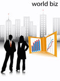 Business people. Illustration of business people... people stock illustration
