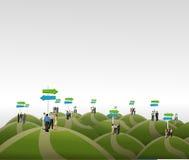 Business people stock illustration