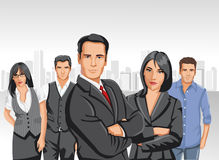 Business people stock illustration