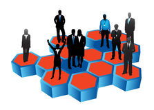Business people. Illustration of business people....biz stock illustration