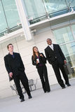 Business People. Attractive diverse business people at their company Royalty Free Stock Photography