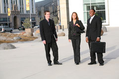 Business People. Attractive diverse business people at their company Royalty Free Stock Photo