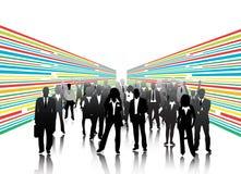 Business people. Illustration of business people.... world biz vector illustration