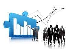 Business people. Illustration of business people.. world biz royalty free illustration