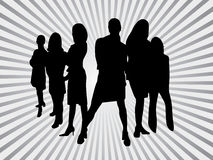 Business people. Vector illustration of business people Royalty Free Stock Image