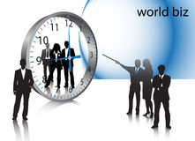 Business people. Illustration of business people.... world biz Royalty Free Stock Photos