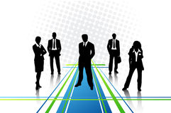Business people. Vector illustration of business people Stock Photography