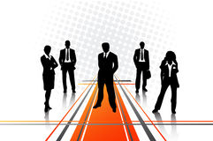 Business people. Vector illustration of business people Stock Images
