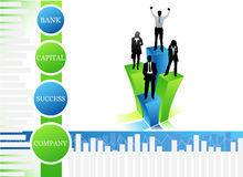Business people. Vector illustration of business people.... concept of business team Stock Images