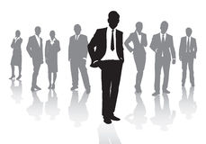 Business people. A group of business people Royalty Free Stock Photography
