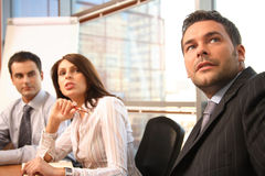 business people in action Stock Photography