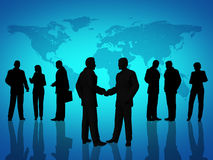 Business people agreement Royalty Free Stock Image