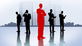 Business people animation