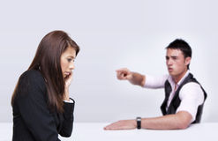 Business people arguing Royalty Free Stock Images