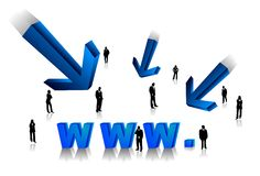 Internet business Stock Photography