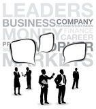 Business people background Royalty Free Stock Photos