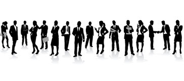 Business people background Stock Photos
