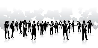 Business people background Royalty Free Stock Photography