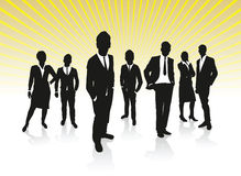 Business people background Stock Image