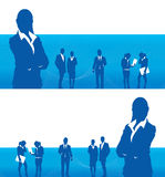 Business people banner Royalty Free Stock Image