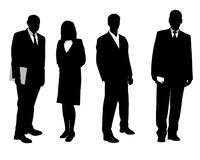 Business people in black Stock Photos