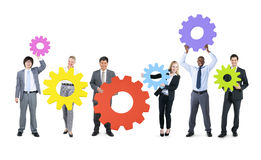 Business People with Business Connection Concepts Stock Image