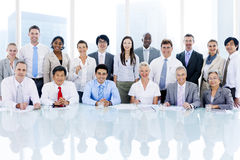 Business People in Business Meeting Stock Photography