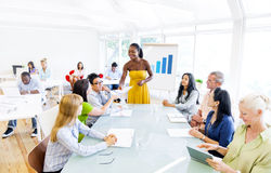 Business People on Business Training Stock Photos