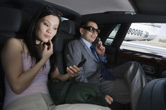 Business People In Car Stock Photos