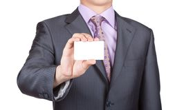 Business people card Royalty Free Stock Photo