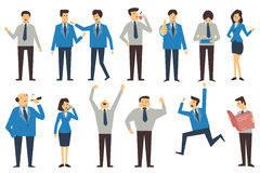 business people cartoon Stock Photo
