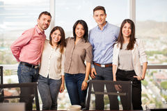 Business people in casual attire Royalty Free Stock Photo