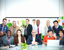 Business People Casual cooperation Cheerful Concept Stock Image