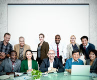 Business People Casual cooperation Cheerful Concept Royalty Free Stock Photo