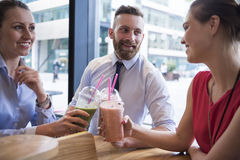Business people celebrating success Royalty Free Stock Photography