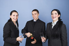 Free Business People Celebrating Their Success Royalty Free Stock Photos - 11711208