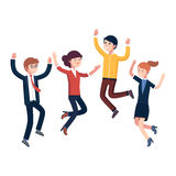 Business people celebrating their success Stock Photography