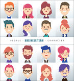Business people character design Stock Photo
