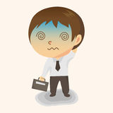 Business people character theme elements vector,eps Stock Photography