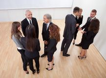 Business people chatting Royalty Free Stock Photo