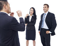 Business people chatting Stock Photography