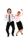 Business People Cheering Stock Image