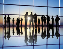 Business People in the City Royalty Free Stock Photos