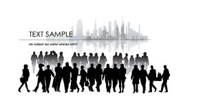 Business people in the city Stock Photos