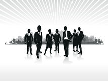 Business People Cityscape Royalty Free Stock Photo